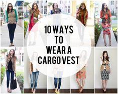 10 Ways to Wear A Cargo Vest