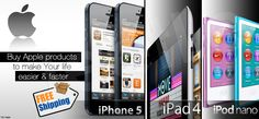 Buy Apple Newly launched products with Free Shipping and One Year Warranty at http://deals.jeetle.in/
