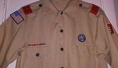 BSA Official Uniform Shirt- YouthXL- Boy Scouts or Webelos - for sale on ebay