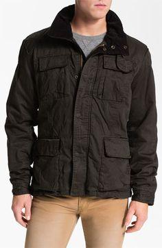 Scotch & Soda Wax Cotton Field Jacket | Nordstrom