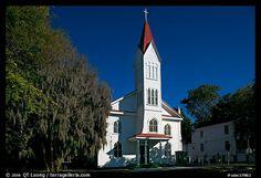 Tabernacle Baptist Church. Beaufort, South Carolina, USA