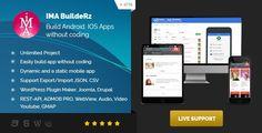 Ionic Mobile App Builder - https://codeholder.net/item/mobile/ionic-mobile-app-builder