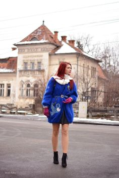 A bit of eccentricity didn't hurt anyone. How do you like my electric blue coat?