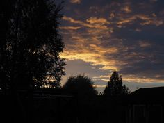 Summer sunset in Finland
