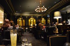 Beaufort Bar at the Savoy in London