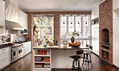 HS2Architecture - desire to inspire - desiretoinspire.net / it must be adorable kitchen day. There should be scalloping, and pink.