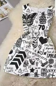 Unique Short Tattoo Quotes for Women One Direction Tattoo Dress - Fresh-One Direction Tattoo Dress - Fresh- One Direction Tattoos, One Direction Merch, One Direction Outfits, I Love One Direction, Ensembles Outfit, Florian David Fitz, Formal Casual, Fresh Tops, 1d And 5sos