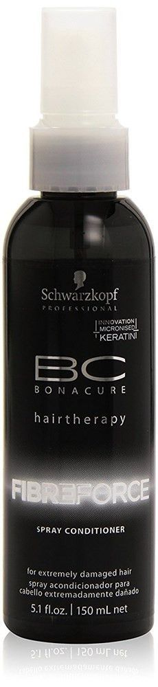 Schwarzkopf Professional BC Bonacure Fibre Force 5.1-ounce Spray Conditioner