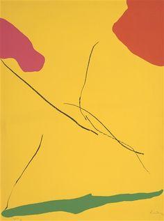 Helen Frankenthaler, Spoleto (H. 37)