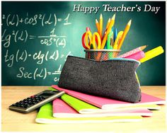 Teaching is the profession that teaches all the other professions 📚 Happy Teacher's Day from Sama Group! Teachers Day Wishes, Happy Teachers Day, Math Teacher, Best Teacher, Back To School Hacks, School Tips, High School, Thing 1, Teachers' Day