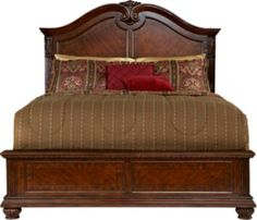 Shop for a Gallegos 3 Pc King Bed at Rooms To Go. Find King Beds that will look great in your home and complement the rest of your furniture. Furniture, Bedroom Sets, King Headboard, At Home Furniture Store, Bedroom Panel, Cherry Wood Bedroom, Bed, Beds For Sale, Bed Frame And Headboard