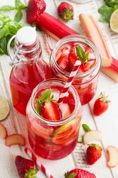 Rezept für Erdbeer-Limonade