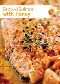 Broiled Salmon | Learn how to broil the perfect, juicy salmon dinner recipe to get all those healthy nutrients with Bounty by your side.
