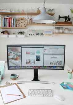 Samsung 34 inch curved monitor | Apartment Apothecary
