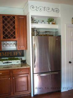 Cabinet for Small Refrigerator - http://www.buckeyestateblog.com/cabinet-for-small-refrigerator/?utm_source=PN&utm_medium=pinterest+flags&utm_campaign=SNAP%2Bfrom%2BBuckeyestateblog