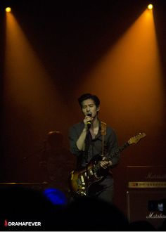 CNBlue blows fans away at the NYC stop of their 2014 Blue Moon World Tour - Jonghyun