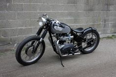 1970 Triumph TR6 bobber. Built by Don Hutchinson Cycle, Wakefield, Massachusetts.