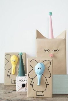 Here are the best DIY gift wrapping ideas for you to wrap the gifts for you friends and relatives on their birthday parties , wedding and for many celebrations! diy gifts Lovely And Unique DIY Gift Wrapping Ideas For 2018 Craft Ideas To Sell Handmade, Diy Gifts For Kids, Craft Gifts, Diy For Kids, Diy And Crafts, Kids Crafts, Sell Diy, Gifts For Children, Kids Gift Bags