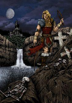 """Simon Belmont of Castlevania"" by arthelius.deviantart.com on @DeviantArt"