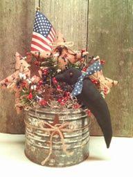Americana Crow & Rusty can