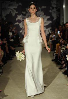 Carolina Herrera Spring 2015 Wedding Dress