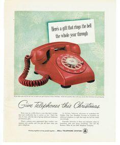 ads Vintage telephone