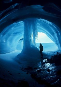 Ice cave in