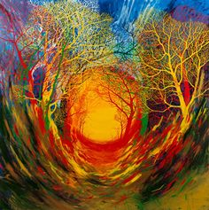 Creative Review - Stanley Donwood show at The Outsiders in London