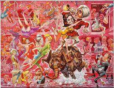 "Jack Davis   ""The Party""  United Artists, 1968"