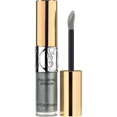Yves Saint Laurent Rouge Pur Couture Metallic lipstick (415 MXN) ❤ liked on Polyvore featuring beauty products, makeup, lip makeup, lipstick, yves saint laurent lipstick and yves saint laurent
