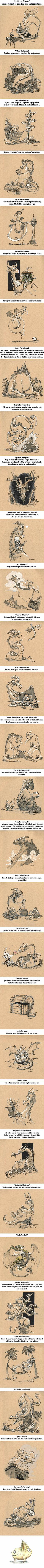 Artiste Brian Kesinger dessiner des dragons pour détruire les stéréotypes à leur sujet
