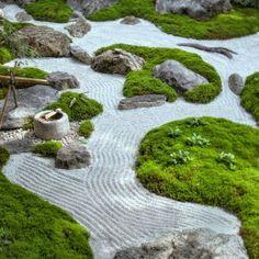 Японский сад камней: философия и устройство | Строительный портал