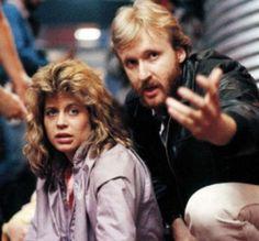1c16d36f194ca Linda Hamilton Fighting Her First Terminator James Cameron Movies, 1984  Movie, Film Movie,