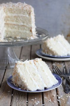 Save room for dessert! Southern Coconut Cake's on the menu