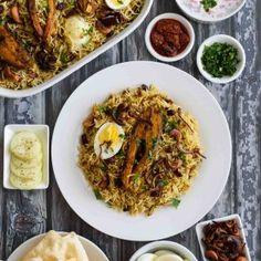Aromatic and Flavorful… An Authentic Kerala Style Fish Biriyani with Spices, Fresh Herbs & Coconut milk…! Fish Marinade, Coconut Fish, Ghee Butter, Red Chili Powder, Biryani Recipe, Fried Onions, Fried Fish, Garam Masala, Fresh Herbs