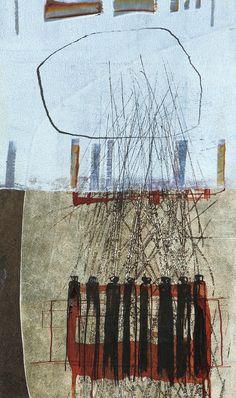 Pentekeningen ‹ Monique Schep Op Art, Modern Art, Mixed Media, Abstract Art, Collage, Tapestry, Punch Needle, Cool Stuff, Gallery
