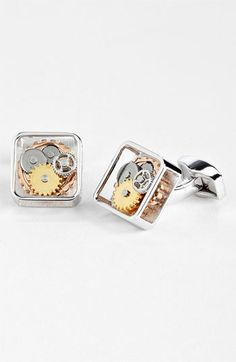 Tateossian 'Gear' Cuff Links available at #Nordstrom