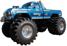 Bigfoot Original Monster Truck Peel and Stick - Wall Sticker, Mural, & Decal Designs at Wall Sticker Outlet Lifted Trucks, Cool Trucks, Pickup Trucks, Cool Cars, Big Monster Trucks, Monster Jam, Truck Icon, Muscle Truck, Tractor Pulling