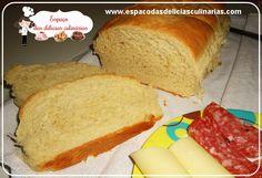 Pão caseiro (passo a passo com fotos) - Espaço das delícias culinárias