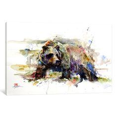 i Multi-Colored Bear by Dean Crouser Print