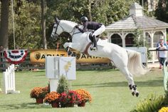 Kirsten Coe and Samson II at the 2014 American Gold Cup