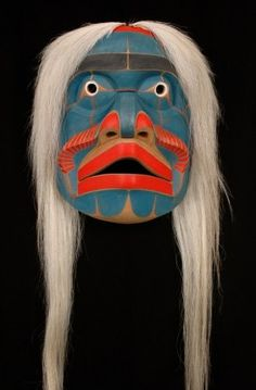 Bella Coola Komokwa Mask by Gene Brabant.