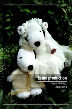 Cute wedding dolls   By Is Me Production https://www.facebook.com/IsMeProduction/