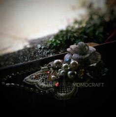 "Brooch Handmade by Ella ""Ciptakan karya indahmu bersama desain Momocraft..."