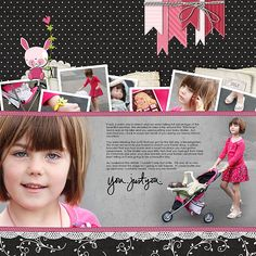 Just You by Jana Morton  What's not to love about any of Jana's layouts and classes!  This is adorable. :)