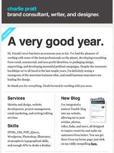 Charlie Pratt newsletter design by Charlie Pratt