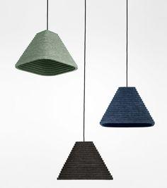 Rimpi lamps by Maija Puoskari, from Salone Satellite