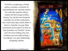 Tarot Meanings: The World