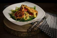 Parmezános tengeri halfilé amaranthos salátával Vegetables, Ethnic Recipes, Food, Essen, Vegetable Recipes, Meals, Yemek, Veggies, Eten