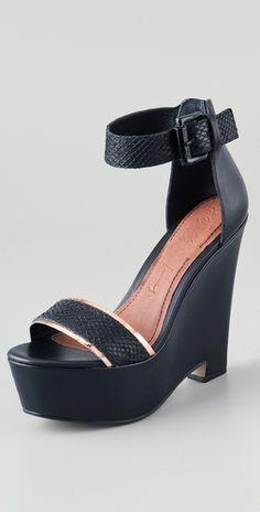 Elizabeth and James  Sibil Wedge Platform Sandals  Style #:ELIJA40415